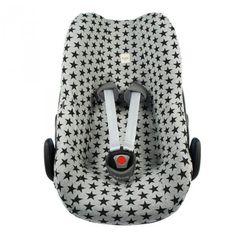 Autostoelhoes MaxiCosi PEBBLE Zwarte Ster, houdt proper en geeft wat flair. Papa en mama gelukkig!