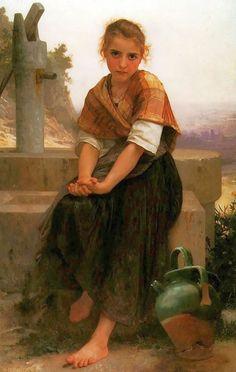 William-Adolphe Bouguereau (1825-1905).