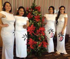 African Fashion Dresses, African Dress, Fashion Outfits, New Dress Pattern, Dress Patterns, Luau Costume, Tapas, Samoan Dress, Samoan Designs