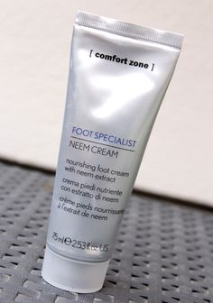 comfort zone foot specialist neem cream