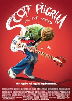 Soundtrack from the Edgar Wright movie - Scott Pilgrim vs. The World. Music by Nigel Godrich. Scott Pilgrim, Mary Elizabeth Winstead, Michael Cera, Video Game Movies, Video Games, World Movies, Vs The World, Teenage Dream, Best Songs