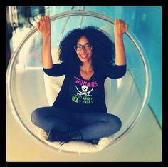 Addisa // 4B Natural Hair Style Icon | Black Girl with Long Hair