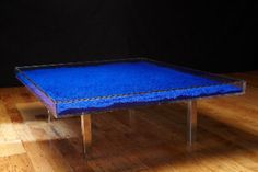 Yves Klein - Table Bleue | Home on Hudson | Pinterest