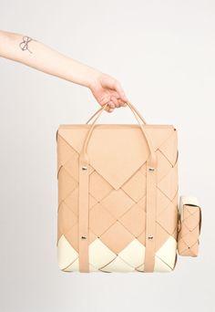 * TUOKKO by Katja Mustaniemi | A R T N A U #bag #leather #brown