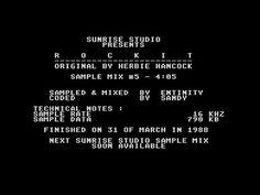 Rock It by Sunrise Studio, 1988   Atari ST Music Demo   1440p/50fps - YouTube