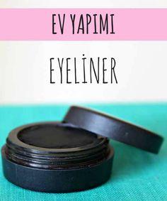 Evde basit ve doğal malzemelerle etkili bir eyeliner yapabilirsiniz.