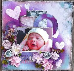 ***Scraps Of Darkness*** November kit - Hello World - Scrapbook.com