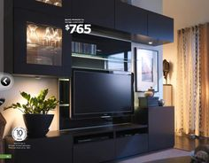 11 Best Wall Units Images Tv