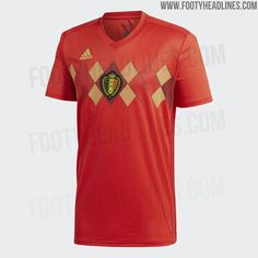 1cf2d52a5 Belgium 2018 World Cup Home Kit Released - Footy Headlines Soccer Tips