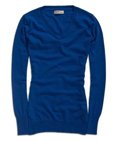 Love this True Blue V-Neck Sweater by TIMEOUT on #zulily! #zulilyfinds