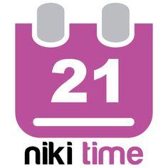 Niki time - Den här använder jag varje morgon. Vi pratar tid, datum, årstid, väder etc.