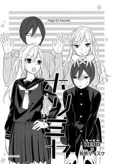 Read Manga Online#horimiya #manga #mangacap