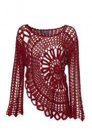 Ideas Crochet Patrones Blusas Paso A Paso Verano Crochet Woman, Diy Crochet, Crochet Tops, Crochet Patron, Crochet Blouse, Crochet Jumper, Crochet Fashion, Crochet Clothes, Pulls