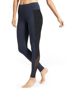 Athleta  High Rise Mesh Tux Chaturanga™ Tight $89.00