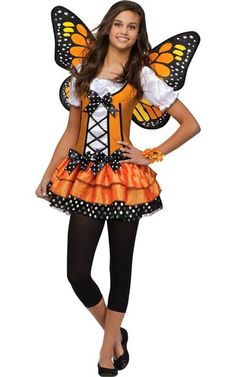 Teen Butterfly Queen Costume-Party City