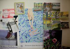 Leanne Shapton, Studio Visit, Thessaly La Force