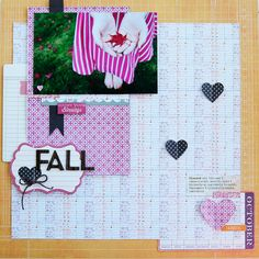 fall - Noel Culbertson - Scrapbook.com for thescrapreview.com