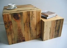 ProduktWerft makes furniture with old wood from industrial pallets | Home Chunk