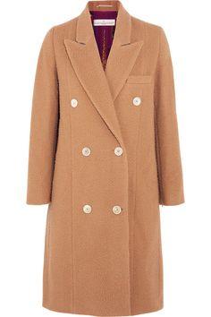 Golden Goose Deluxe Brand - Nina Double-breasted Textured-wool Coat - Camel