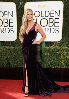 Nancy O'Dell - Every Best Dressed Look from the 2017 Golden Globes - Photos