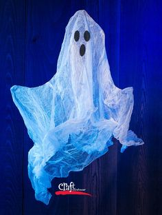 Learn how to make cheesecloth ghosts with cheesecloth and Mod Podge. A great project for spooky decor for Halloween. Get supplies at Craft Warehouse.