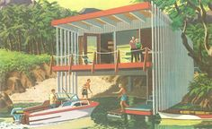 THE PAST IN PLYWOOD: Swell Mid-Century Vacation Homes