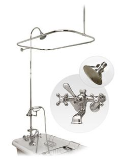 Clawfoot Tub Shower On Pinterest Tubs Clawfoot Tubs And Showers
