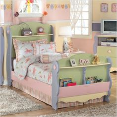 DIY future grandkids bed, for those sleepovers.