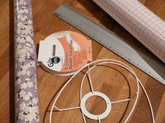 Faire un abat jour en papier japonais (french tutorial)
