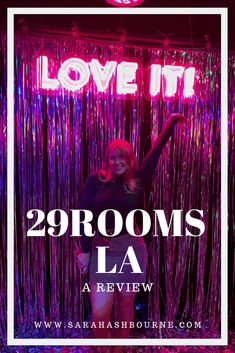 A review of 29Rooms in Los Angeles 2018 Neon Signs, Posts, Thoughts, Blog, Messages, Blogging, Tanks