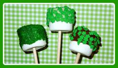 ST. PATRICK'S DAY DESSERT RECIPES | St. Patrick's Day S'more Pops