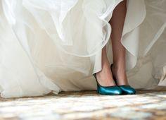 shoes: Bel Air Bay Club Wedding by Michael Segal - enfianced