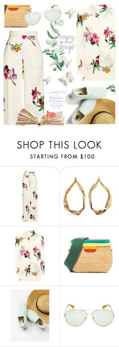 """""""Picnic 🌹"""" by cilita-d ❤ liked on Polyvore featuring Etro, Tom Ford, Edie Parker, Free People and Oliver Peoples"""