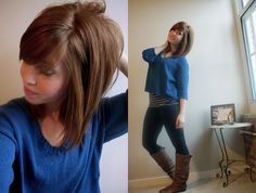 thinking about getting bangs again ...