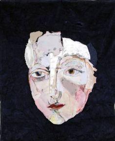 """Saatchi Art Artist Diane Lavoie; Collage, """"Waiting"""" #art"""