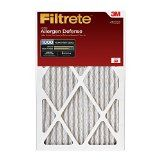 Filtrete Micro Allergen Defense Filter MPR 1000 20-Inch x 25-Inch x 1-Inch 6-pack Reviews
