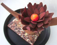 Chocolate flower.