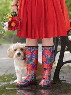 Wellies Boots - Womens Wellies in Fun Patterns | Gardener's Supply