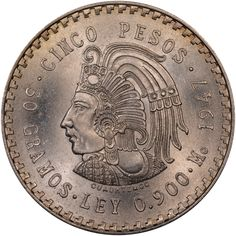 Mexico 1947 5 Pesos KM#Pn195 https://www.ngccoin.com/price-guide/world/mexico-5-pesos-km-pn195-1947-cuid-2661-duid-12224