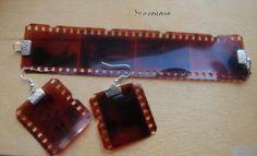 recycled photographic film jewelry