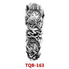 Cool Little Tattoos, Full Arm Tattoos, Leg Sleeve Tattoo, Real Tattoo, Samurai Tattoo, Leg Sleeves, Body Makeup, Temporary Tattoo, Tattoo Designs