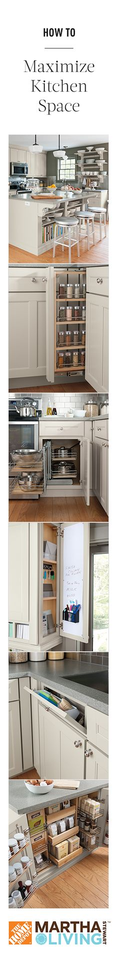 How to maximize kitchen space