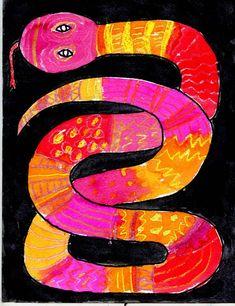 Pattern Overlapping Snake