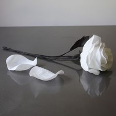 Bespoke Handmade Paper Roses by Pearl and Earl www.PearlandEarl.com