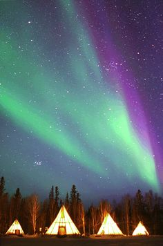 Aurora of Yellowknife, Canada.