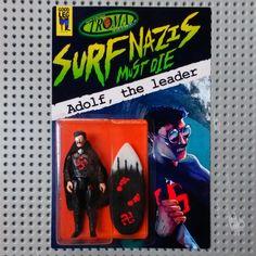 "Goodleg Toys | Troma X Goodleg - ""Surf Nazis Must Die"" Adolf, the leader"