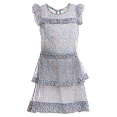 SuperTrash Girls Silk Chiffon 'Dominga' Dress  at Childrensalon.com