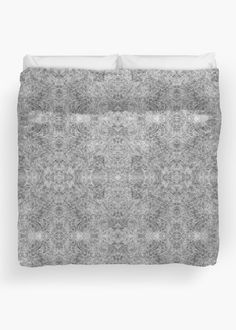 """""""Grey and white zentangles"""" Duvet Cover by Savousepate on Redbubble #duvetcover #bedroom #bedroomdecor #homedecor #pattern #zentangles #scrolls #doodles #black #grey #gray #white #blackandwhite"""