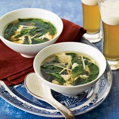 Spinach Egg Drop Soup
