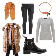 OneOutfitPerDay 2015-11-20 - #ootd #outfit #fashion #oneoutfitperday #fashionblogger #fashionbloggerde #frauenoutfit #herbstoutfit - Frauen Outfit Frühlings Outfit Herbst Outfit Outfit des Tages 7 For All Mankind Anupamaa BININBOX Chino Gioseppo Gummistiefel Hallhuber Kaschmir Kaschmirpullover Mantel Marc by Marc Jacobs Pullover